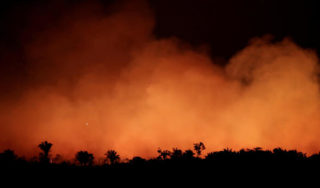 Brazil military begins operations to fight Amazon rainforest fires