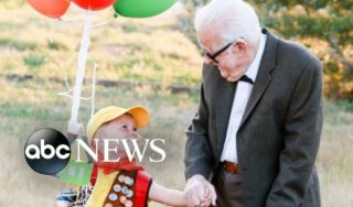 Great-grandparents join 5-year-old for 'Up' photoshoot