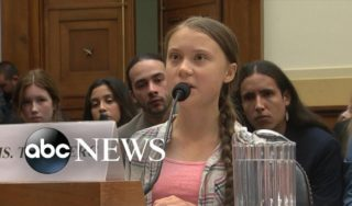 Teen activist Greta Thunberg urges US lawmakers to 'listen to the scientists'