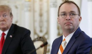 Acting White House chief of staff under fire after Ukraine comments