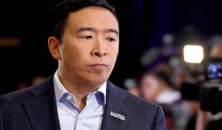 Andrew Yang's campaign is all about 'math.' But his numbers don't always add up.