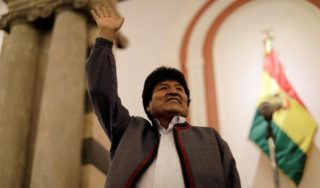 Bolivia elections: Morales confident he will win outright despite unfavourable preliminary count