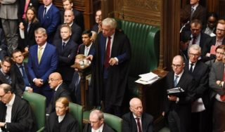 Flamboyant speaker of Parliament may scupper Boris Johnson's Brexit plan