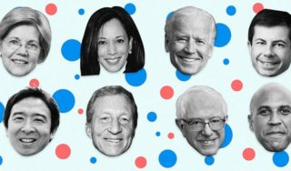 Which candidates have qualified for the next Democratic debate?