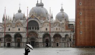 Emergency declared in Venice, Italy over high tides
