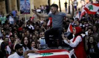 Man killed as tensions flare in Lebanon after Aoun interview