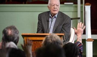 US President Jimmy Carter to undergo procedure to relieve pressure on brain after falls