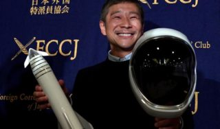 Almost 28,000 women apply for moon trip with Japanese billionaire