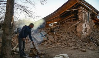 Major rescue efforts underway in Turkey after earthquake kills at least 22