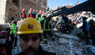 More than 1,000 injured, 22 dead in earthquake in Turkey