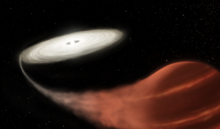 """""""Vampire"""" star discovered in the midst of a feeding frenzy"""