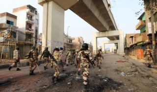 At least 17 killed in violent clashes in India's capital