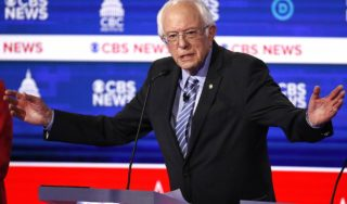 In Round 10, Sanders finally gets treated like the front-runner