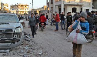These pictures reveal Syrians' desperate struggle to survive after fleeing Idlib violence