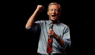 What the hell is Tom Steyer doing?
