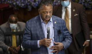 'Come November, we will remember' George Floyd, says Rev Jesse Jackson