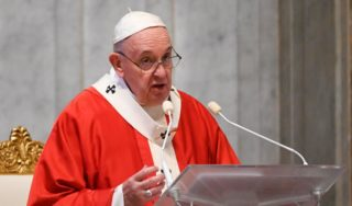 Pope Francis condemns the death of George Floyd