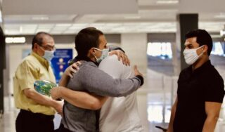 American detained for 486 days in Egyptian prison returns home