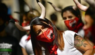 Pamplona bull-running festival scrapped for first time in decades