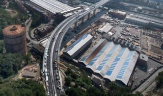 Genoa readies new bridge two years after tragic collapse