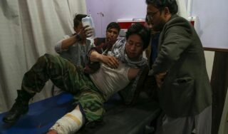 Suicide bomb at Kabul education centre kills 18 and injures over 50