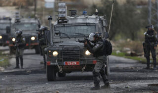Palestinian man shot dead after alleged car-ramming attack