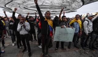 'The fight continues': Colombia protests persist despite pandemic