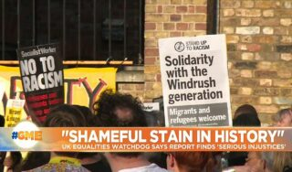 UK equalities watchdog says report finds 'serious injustices' in handling of Windrush generation