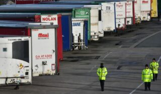 'Can't cope': After Brexit, UK border customs system hits limit
