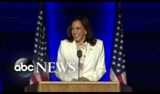 Kamala Harris breaks barriers to become 1st female vice president