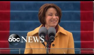 Sen. Amy Klobuchar delivers opening inauguration remarks