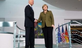"U.S. allies ""greatly relieved,"" but also wary as Biden steps up"