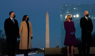 US inauguration: Biden and Harris mark America's COVID grief at Washington ceremony