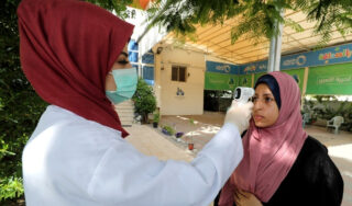 Palestinians shut West Bank schools as coronavirus variants surge