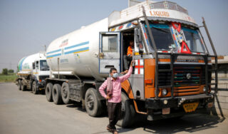 India COVID crisis: Oxygen gets armed escort as supplies run low