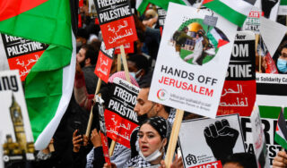 In Pictures: Global protests in solidarity with Palestinians