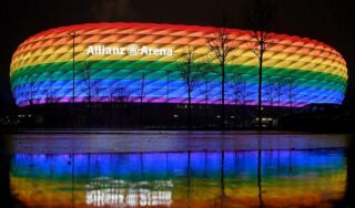 """Rainbow flag ruled too """"political"""" for Germany-Hungary soccer game"""