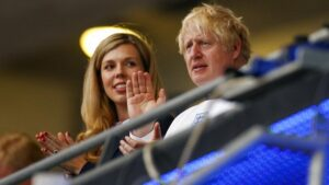 Boris Johnson and wife, Carrie, are expecting another child