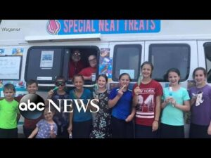 Feel Good Friday: Family starts ice cream truck to employ special-needs children