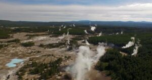 Geyser eruptions could be a hidden danger in Yellowstone Park