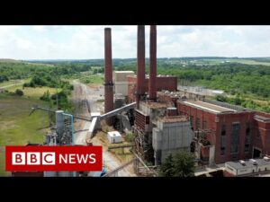 Inside the bitcoin mine with its own power plant – BBC News