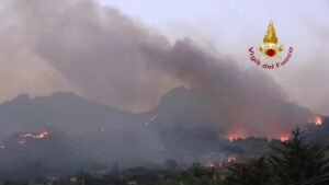 Married couple among dead as wildfires rage in Turkey and Italy