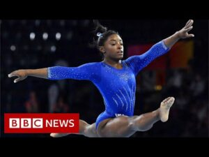 Simone Biles: Young gymnasts comment on her withdrawal – BBC News