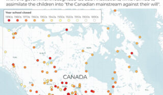 Canada: Protesters demand investigation into residential schools