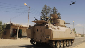 Egypt: Eight soldiers killed in Sinai 'anti-terrorism' operations