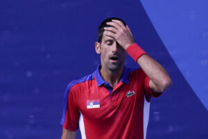 Novak Djokovic will leave the Tokyo Olympics without any medals