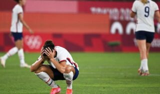 U.S. women's soccer team loses to Canada in Olympic semifinal