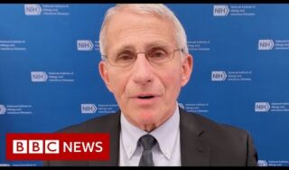 Dr Fauci urges Americans to get Covid vaccine as US daily death toll rises – BBC News