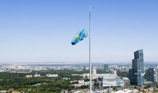 Two police officers among five people killed in shooting in Kazakhstan
