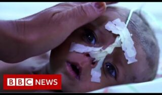 Afghan baby girl sold for $500 by starving family – BBC News